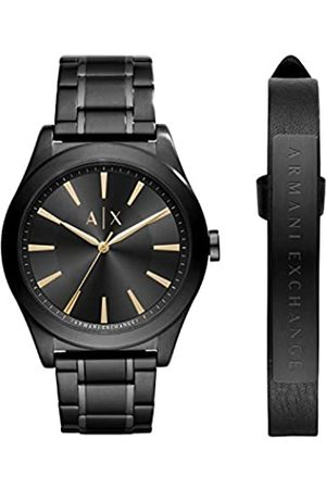 Armani Mens Analogue Quartz Watch with Stainless Steel Strap AX7102