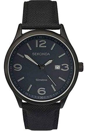 Sekonda Unisex-Adult Analogue Classic Quartz Watch with Rubber Strap 1369.27