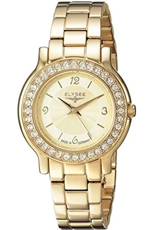 ELYSEE Unisex Adult Analogue Quartz Watch with Stainless Steel Strap 28611