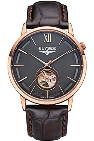 ELYSEE Unisex Adult Analogue Automatic Watch with Leather Strap 77012B