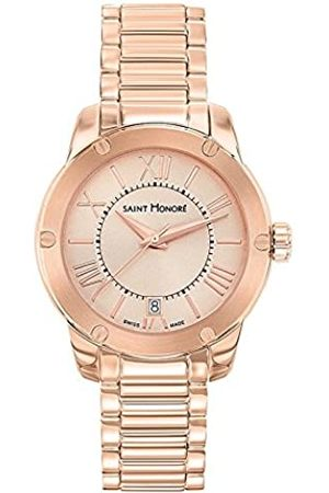 Saint Honore Women's Analogue Quartz Watch with Stainless Steel Strap 7511308LMRR