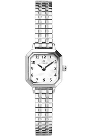 Accurist Womens Stainless Steel Japanese Quartz Watch With Expanding BraceletMother Of Pearl DialSplash Resistant2 year guarantee.