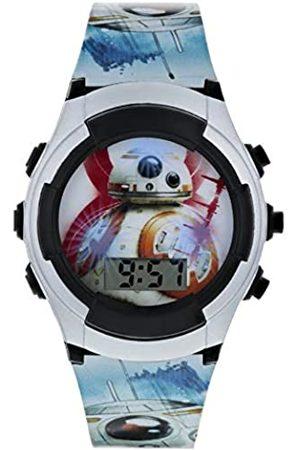 STAR WARS Boys Digital Watch with PU Strap SWJ4011