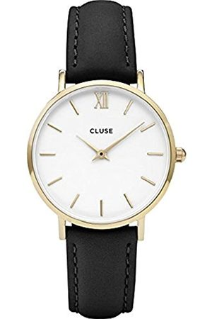 Cluse Womens Analogue Classic Quartz Connected Wrist Watch with Leather Strap CL30019