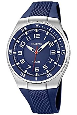 Calypso Men's Quartz Watch with Dial Analogue Display and Plastic Strap K6063/2