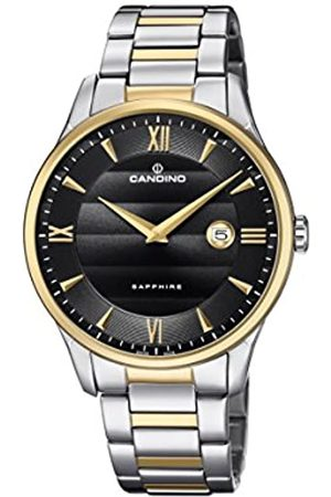 Candino Mens Analogue Classic Quartz Watch with Stainless Steel Strap C4639/4
