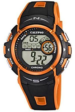 Calypso Boys Digital Quartz Watch with Plastic Strap K5610/7