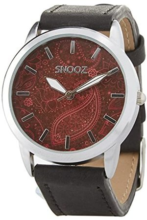 Snooz Women's Analogue Quartz Watch with Leather Strap Saa1040-86