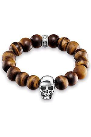 Thomas Sabo Men Silver Stretch Bracelet - A1576-826-2-L19.5