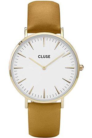 Cluse Men's Analogue Quartz Watch with Leather Strap CL18419