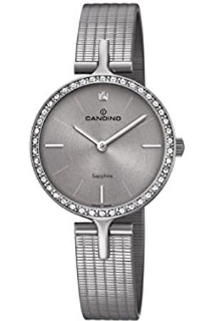 Candino Womens Analogue Classic Quartz Watch with Stainless Steel Strap C4647/1
