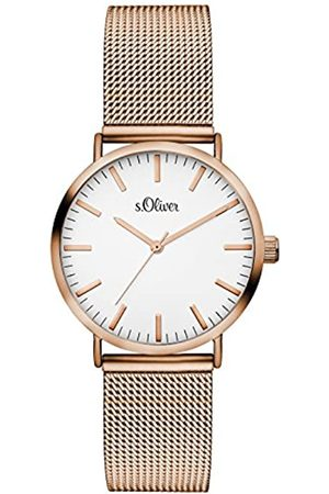 s.Oliver Women's Analogue Quartz Watch with Stainless Steel Bracelet – SO-3272-MQ