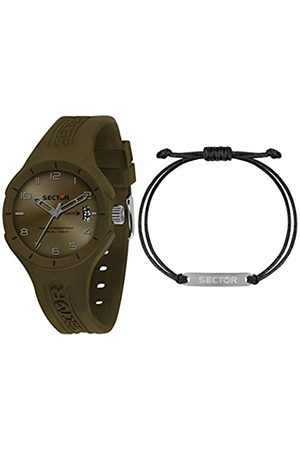 Sector No Limits Mens Analogue Quartz Watch with Silicone Strap R3251514018
