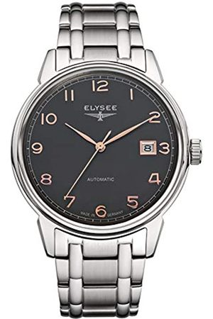 ELYSEE Men's 80546S Classic-Edition Analog Display Automatic Self Wind Silver Watch