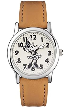 Disney Minnie Mouse Women's Analogue Quartz Watch with PU Strap MN1550