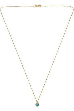 Lola Rose Garbo Simple Aqua Montana Agate Necklace