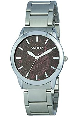 Snooz Women's Analogue Quartz Watch with Stainless Steel Strap Saa1038-86