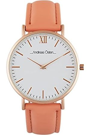 Andreas Osten Unisex-Adult Analogue Classic Automatic Watch with Leather Strap AO-235