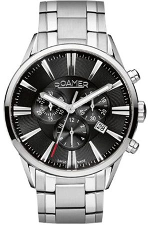Roamer Superior Men's Quartz Watch with Dial Chronograph Display and Stainless Steel Bracelet 508837 41 55 50