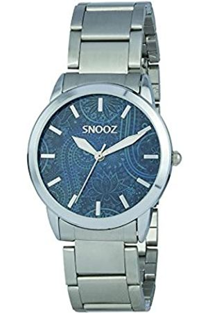 Snooz Women's Analogue Quartz Watch with Stainless Steel Strap Saa1038-71
