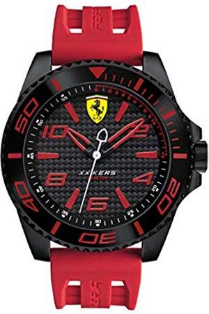 Scuderia Ferrari Men's Analogue Classic Quartz Watch with Silicone Strap 0830308