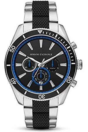 Armani Mens Chronograph Quartz Watch with Stainless Steel Strap AX1831