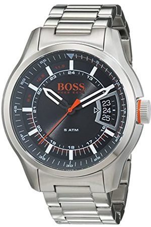 HUGO BOSS Orange Hong Kong Mens Quartz Analogue Classic Silver Stainless Steel Bracelet 1550004