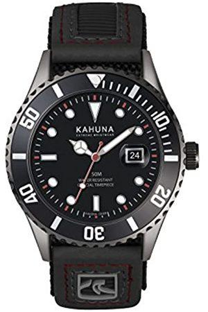 Kahuna Mens Analogue Classic Quartz Watch with Textile Strap KUV-0004G