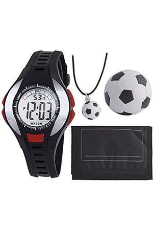 Tikkers Unisex Child Digital Watch with PU Strap GLA50