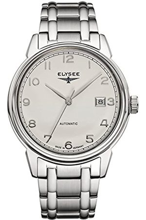 ELYSEE Men's 80545S Classic-Edition Analog Display Automatic Self Wind Silver Watch