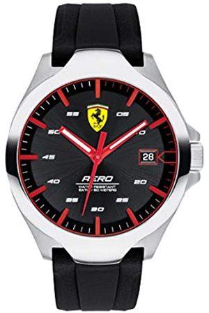 Scuderia Ferrari Unisex-Adult Analogue Classic Quartz Watch with Silicone Strap 0830506