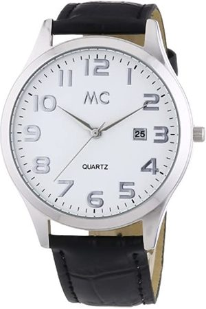 MC Men's Quartz Watch 27671 with Leather Strap