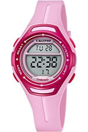 Calypso Unisex-Child Digital Quartz Watch with Plastic Strap K5727/2