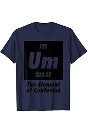 BUBL TEES Um? The Element Of Confusion Funny Chemistry T-Shirt