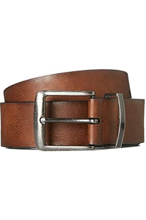 FIND Amazon Brand - Men's Distressed Leather Effect Belt, L