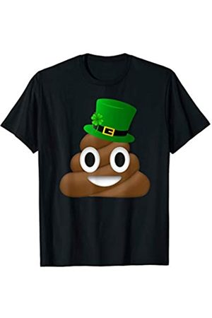 Face Emojis Positive Cute St. Patrick's Day 2020 Irish Poop Emoji Funny Cool St Patricks Day 2020 Shamrock T-Shirt