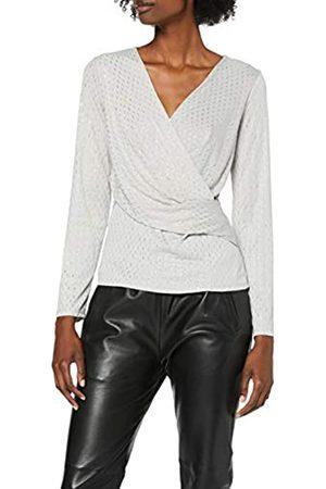 Dorothy Perkins Women's Jersey Wrap Long Sleeve Top
