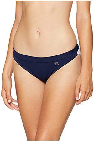 Tommy Hilfiger Women's Classic Flag Bikini Bottoms, (Navy Blazer-Tango 501)