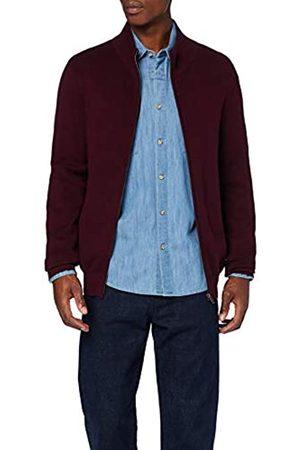 FIND Amazon Brand - Men's Cotton Cardigan, S