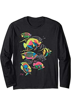 Neff Neon School of Fish Long Sleeve T-Shirt