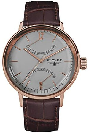 ELYSEE Unisex Adult Analogue Quartz Watch with Leather Strap 13290