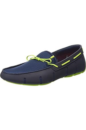 Swims Men's Braided Lace Loafer, (Navy/ 021)