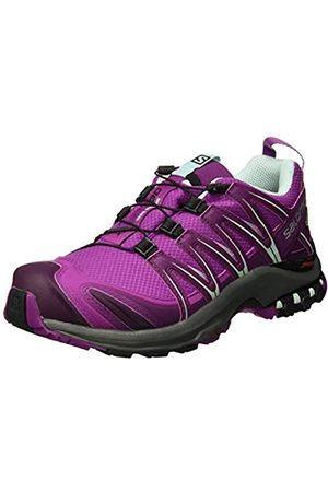 Salomon Women's Trail Running Shoes, XA Pro 3D GTX W, Hollyhock/Dark /Eggshell