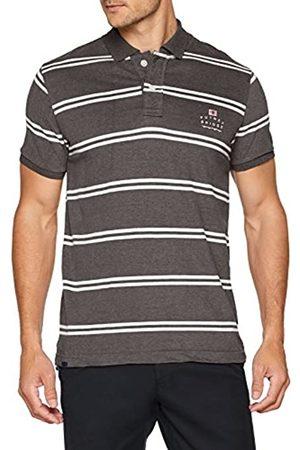 Putney Bridge Men's CORE Logo Striped Polo Shirt, ( / Gwh)