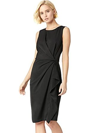 TRUTH & FABLE Amazon Brand - Women's Dress Twist Front Tunic, 12