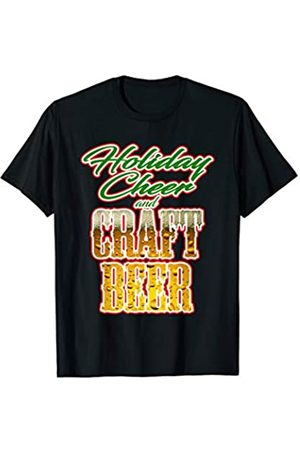 Christmas Craft Beer TShirt Holiday Cheer and Craft Beer Christmas T-Shirt