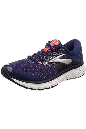 Brooks Women's Glycerin 16 Running Shoes, (Navy/Coral/ 494)