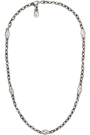Gucci GG sterling necklace