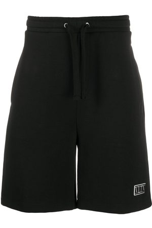Valentino VLTN patch track shorts
