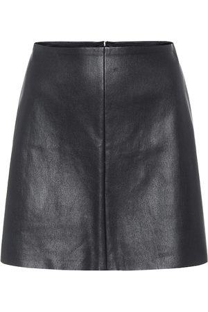 Stouls Santa Maria leather miniskirt